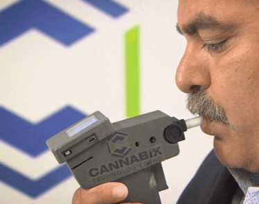 Cannabix Technologies against saliva testing