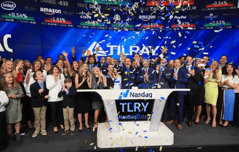 Tilray debuts on Nasdaq exchange