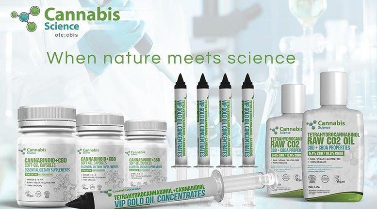 Cannabis Science Inc