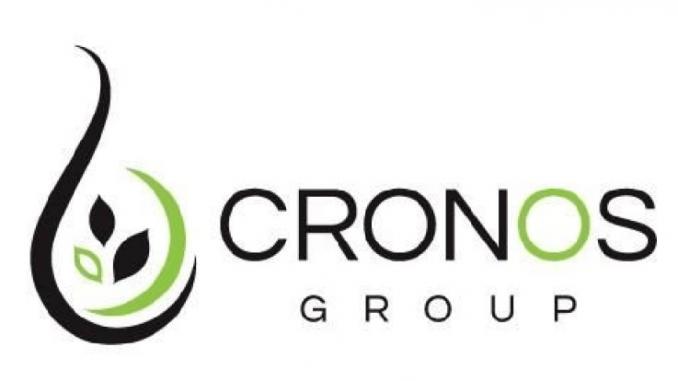 Cronos Group stock price today